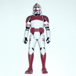 Star Wars Saga Legends SL08  Shock Trooper 2013 rare @sold@